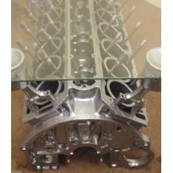Beistelltisch Couchtisch Tisch V12-Motorblock Jaguar